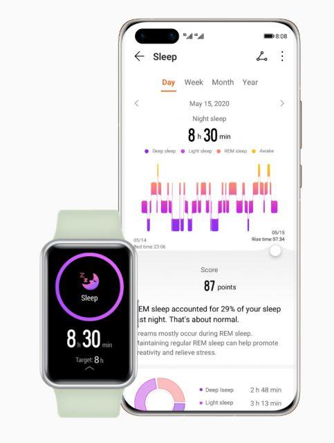 HUAWEI WatchFit Sleep Monitoring   9