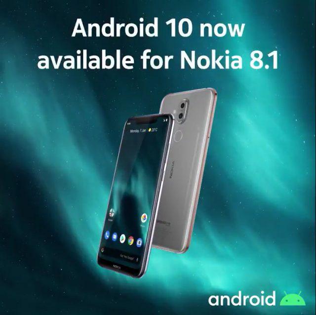 Nokia 8.1 Upgrade