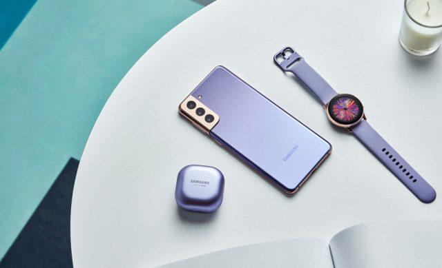 batch Galaxy S21 plus budspro watch lifestyle violet   4