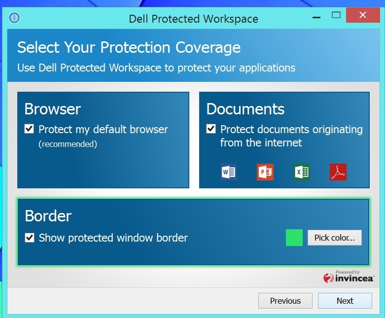 dell protected workspace